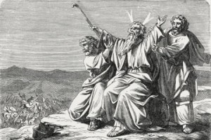 Moses-hands-in-battle-with-Amalekites