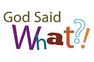 God-said-what
