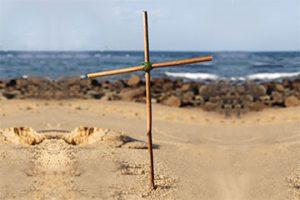Cross-in-sand-tn